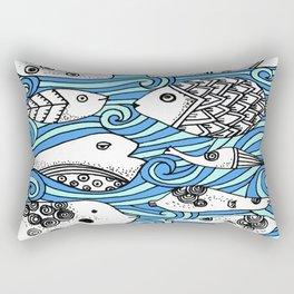 Fishy Friends Rectangular Pillow