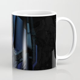 Optimus Prime Line Art by Kaydesign Coffee Mug