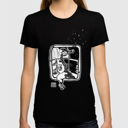 Space Giraffe Ahoy T-shirt