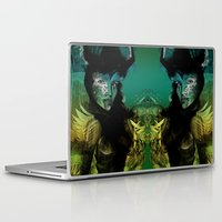 angel Laptop & iPad Skins featuring Angel by Irmak Akcadogan