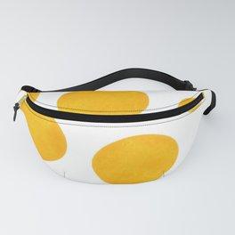 Yellow polka dot pattern Fanny Pack