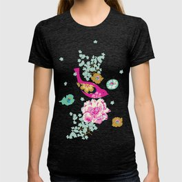 Birds and Blooms 1 T-shirt