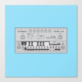 303 Square Canvas Print