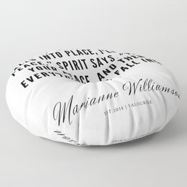 62 |  Marianne Williamson Quotes | 190812 Floor Pillow