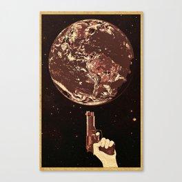 Loaded Gun Canvas Print