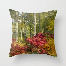Autumn Arboretum Throw Pillow