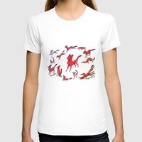 foxes T-shirts featuring Foxes by Kit Seaton