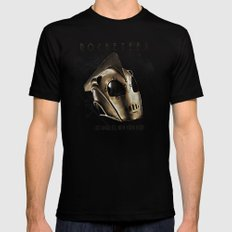 ROCKETEER! Mens Fitted Tee X-LARGE Black