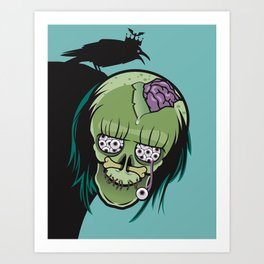 20 Eyes in my Head Art Print