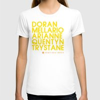 martell T-shirts featuring Doran Martell Typography series II by P3RF3KT