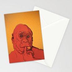 Warm Gorilla Stationery Cards