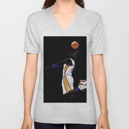 LA Sports Icon #8 Unisex V-Neck