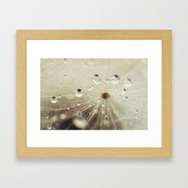 For the rainy days Framed Art Print