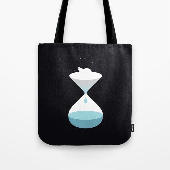 terminally ill polar bear Tote Bag