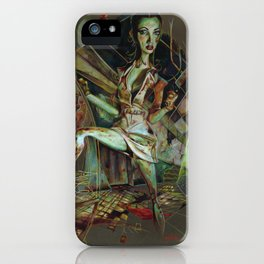 Brookhaven Nurse iPhone Case