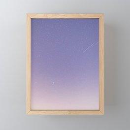 Soft Milky Way Framed Mini Art Print