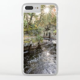 Sturgeon River Canyon in Michigan's Upper Peninsula Clear iPhone Case