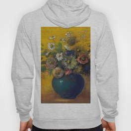 "Odilon Redon ""Bouquet of flowers"" (3) Hoody"