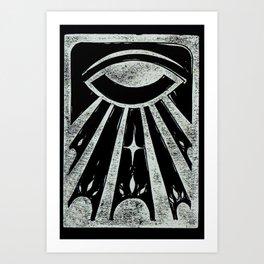 Clarity (Black) Art Print