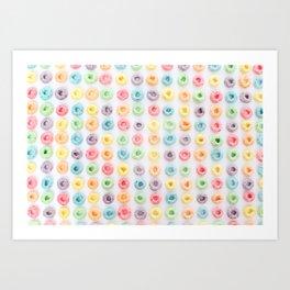 FRUIT LOOPS, PLEASE! Art Print