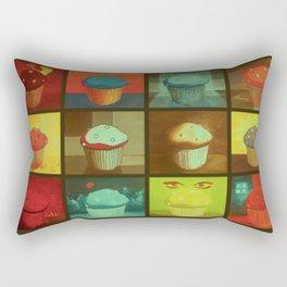 Muffins  Rectangular Pillow