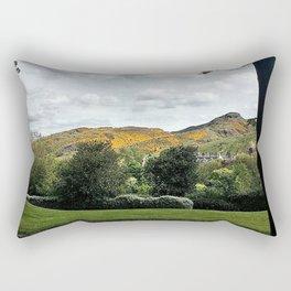 The Mountains Of Edinburgh Scotland Rectangular Pillow