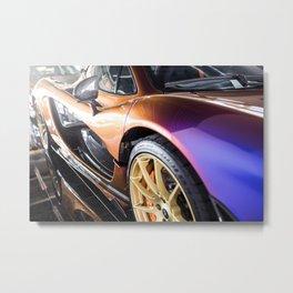 McLaren P1 - Cerberus Pearl - Side Detail Metal Print