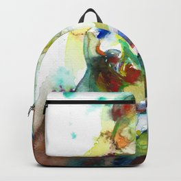 FRIEDRICH NIETZSCHE - watercolor portrait.3 Backpack