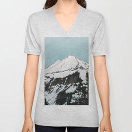 Turquoise Sky Mt. Baker Unisex V-Neck