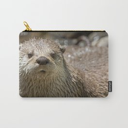 Otter Art, Otter Canvas Print, Photographic Print, Art Print, Framed Print, Greeting Card, Carry-All Pouch