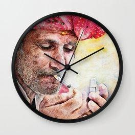 ' Mr Smoker ' Wall Clock