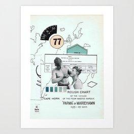 Charlie —•—• Art Print