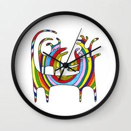 Rainbow Squad Wall Clock