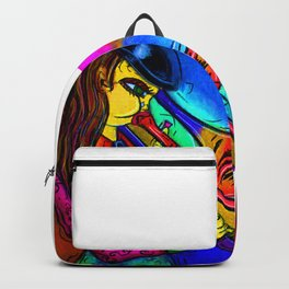 Pink Jazz Backpack