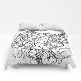 Deadly Beauty Comforters