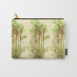 Palmier Rouge - Red Palmtree Carry-All Pouch