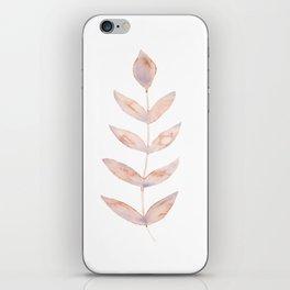 Rose Leaves Simplicity iPhone Skin