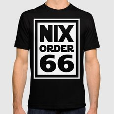 Nix Order 66 Mens Fitted Tee Black SMALL