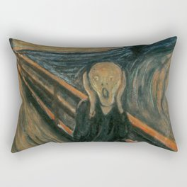The Scream Rectangular Pillow