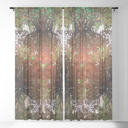 A Call For Calm No 1 Sheer Curtain