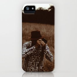 Retro Photographer iPhone Case