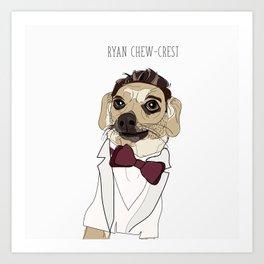 Celebrity Dogs-Ryan Chew-crest Art Print