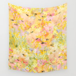 Buttercup Fields Forever Wall Tapestry