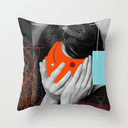 crash m!nd Throw Pillow