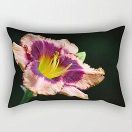 Peachy Keen Lily Rectangular Pillow
