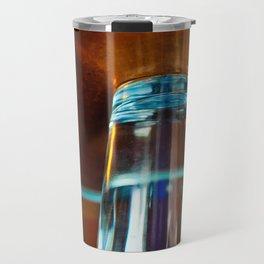 Abstract Colors Through Glass Travel Mug