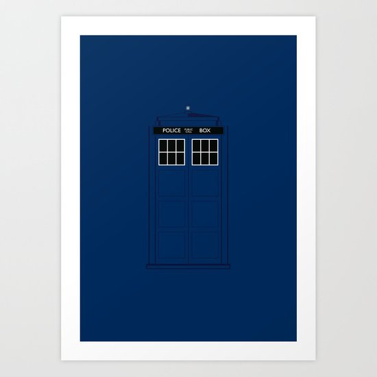 Doctor Who - The Doctor is in.....  Art Print