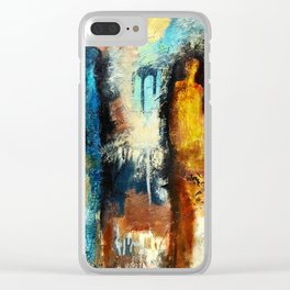 Evening out Clear iPhone Case