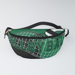 Volleyball Game - Dark Green Fanny Pack