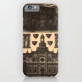 Iconographic Encyclopedia of Science, Literature and Art (1851) - Renaissance Architecture 1 iPhone Case